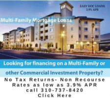 No Tax Returns 80% LTV for Multifamily Apartment Building